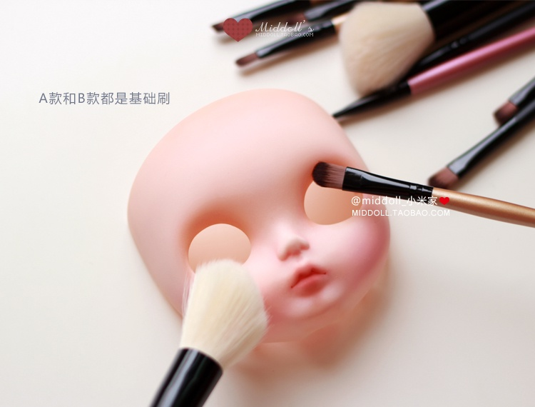 2019 5pcs/set 1/6 Doll Blyth Doll Change Makeup Tools For Blyth Makeup Brush Doll Accessories Bjd Cosmetic Brush Tools