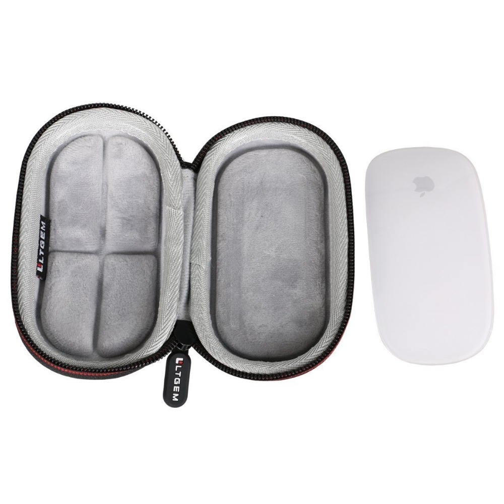 LTGEM Hard EVA Protective Case Carrying Cover Bag For Apple Magic Mouse I II 2nd Gen