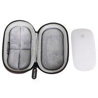 LTGEM estojo de armazenamento para mouse  EVA resistente para transporte  para mouse Apple Magic I II 2nd Gen