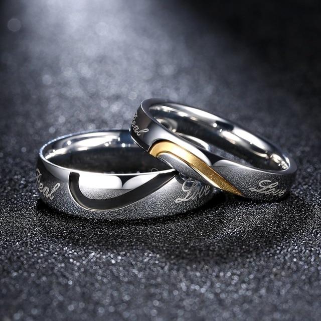 Aliexpresscom Buy Fashion Wedding Alliance Rings Brand Pair
