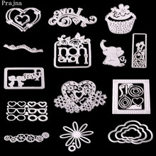 Prajna Cartoon Cutting Dies Love Gifts Metal Cutting Dies Elephant Scrap-booking Machine Stamps And DIY For Card Make Stencil(China)