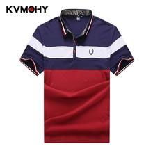 51c75df1b Men Striped Polo Shirt Fat Male Shirts Fashion Brand Casual Shirts Camisa  Masculina Large Size Homme
