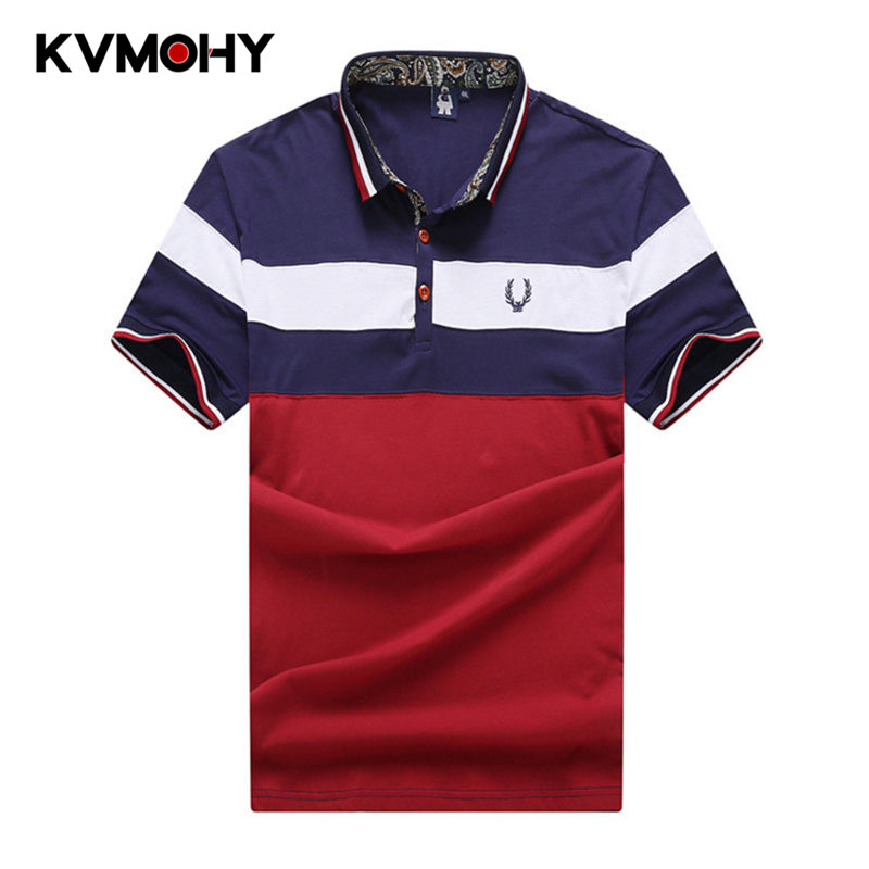 Men Striped   Polo   Shirt Fat Male Shirts Fashion Brand Casual Shirts Camisa Masculina Large Size Homme Tops   Polos   Para Hombre 7XL
