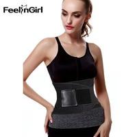 FeelinGirl 2018 Waist Trainer Man Women Xtreme Thermo Power Hot Body Shaper Girdle Belt Underbust Control