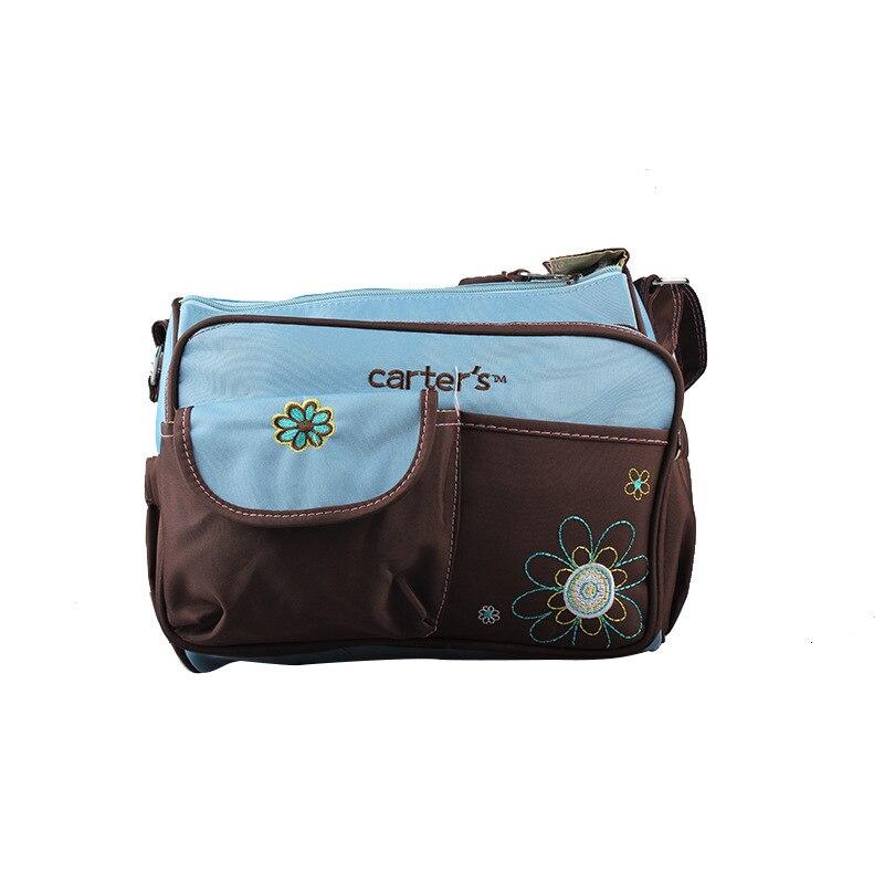 Modes autiņbiksīšu soma ar lielu jaudu daudzfunkcionālu mātes - Autiņbiksītes un tualetes apmācība