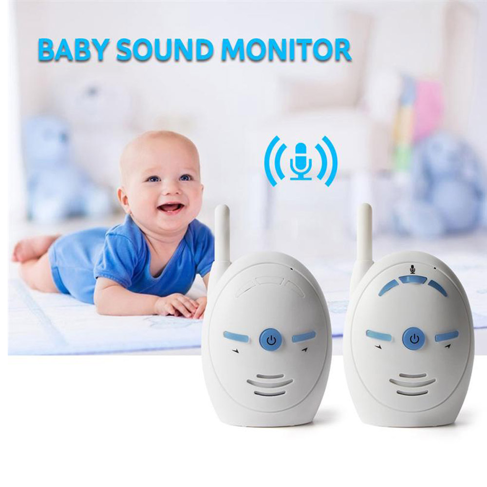 wireless infant baby monitor v20 portable audio walkie. Black Bedroom Furniture Sets. Home Design Ideas