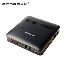 ECDREAM original mini PC A7 windows 10 INTEL N3450 4GB RAM 64GB EMMC Quad Core 2.2 GHz mini computers fanless PC lan wifi 2017