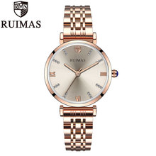 Ruimas Fashion Luxury Brand Women Quartz Watch Ladies Wrist Watch For Montre Femme 2019 Female Clock Relogio Feminino