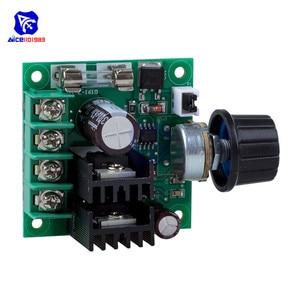 Diymore DC 12-40 В 10A ШИМ DC двигатель регулятор скорости модуль регулятор напряжения диммер/w предохранитель поворотный потенциометр