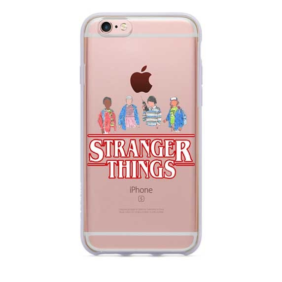 Stranger Things Christmas Lights Silicone Cases for iPhone