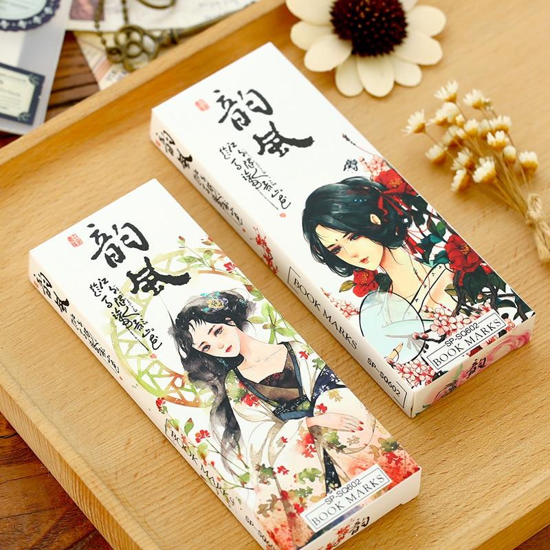 30 Pcs Kawaii Japanese Paper Card Bookmark