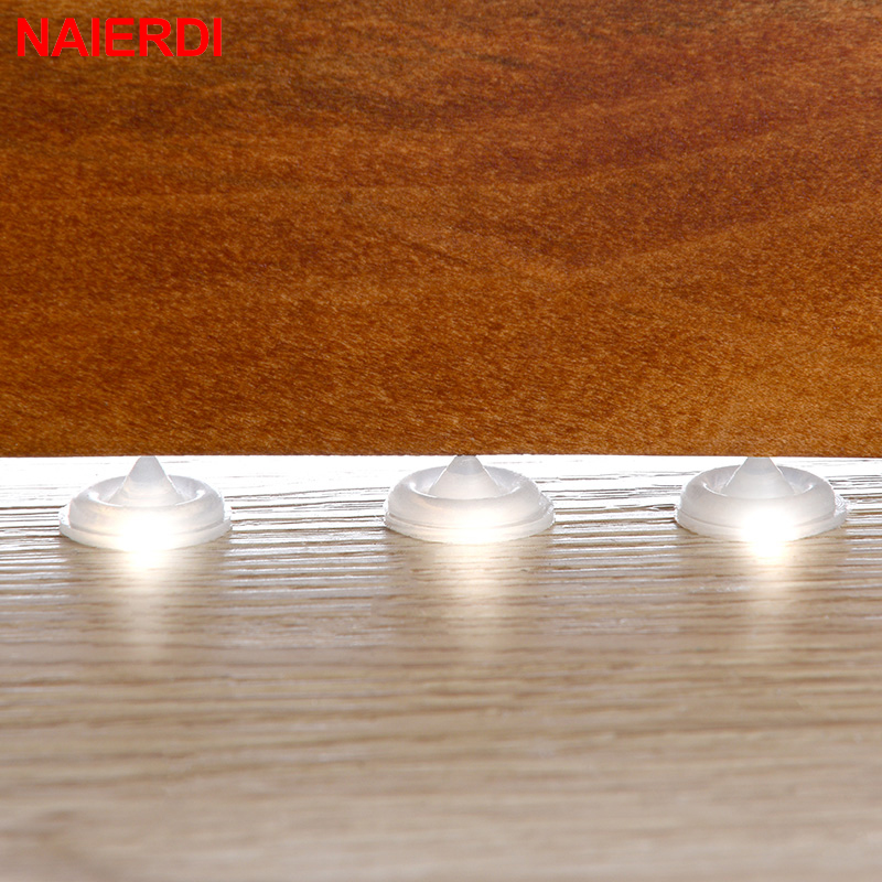 "64pcs 1//2/"" Silicon Rubber Kitchen Cabinet Door Glass Pad Bumper Damper Cushion"