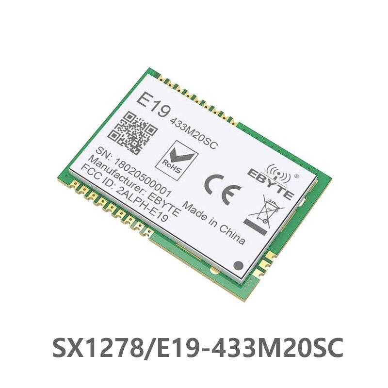 e22 400m22s sx1268 lora long range transceiver 410mhz 493mhz 433mhz