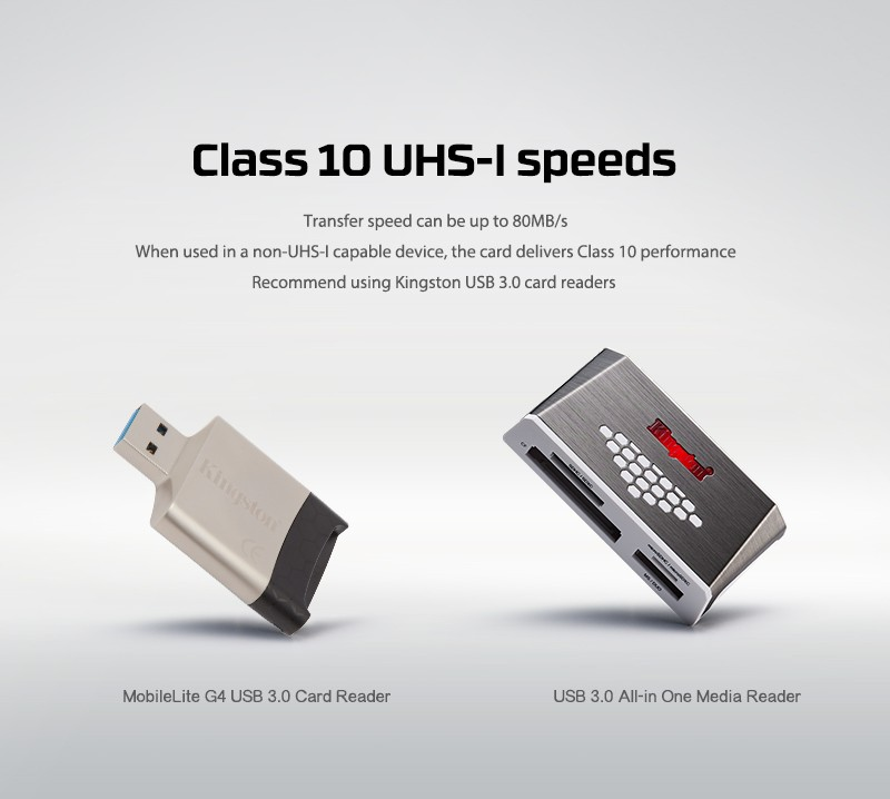 Kingston Class 10 TF 8gb 16gb 32gb 64gb 128gb memory card SDHC SDXC micro sd card 16g 32g 64g 128g microsd microSDHC UHS-I 17