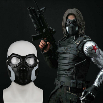 The Avengers Capitan America 3 The WINTER SOLDIER Cosplay Puntelli Maschera di Halloween/Carnival Party Cosplay