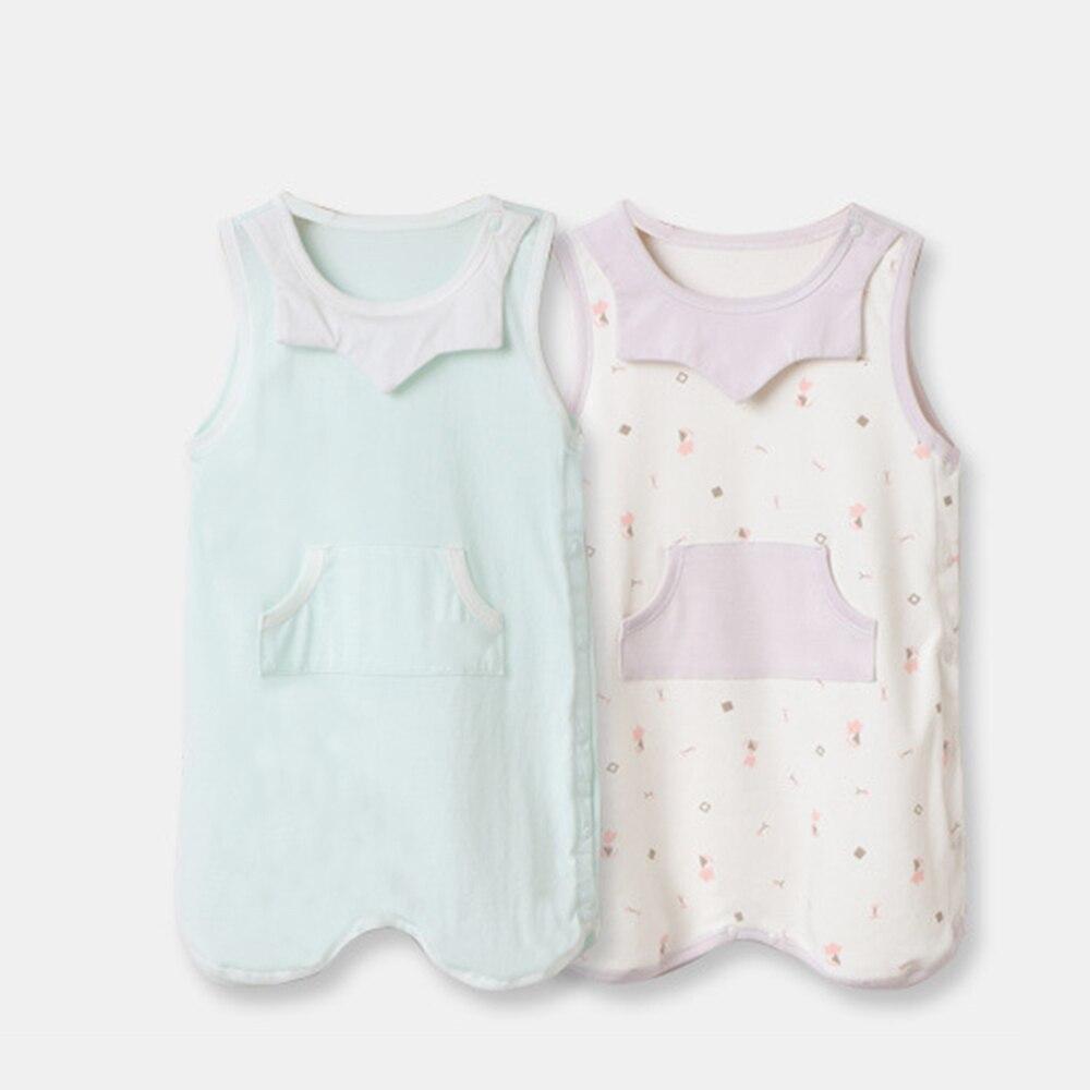 Newborn Sleeping Bag Short Sleeve Leg-Splitting Slumber Bag For Baby Kick-Proof Quilt
