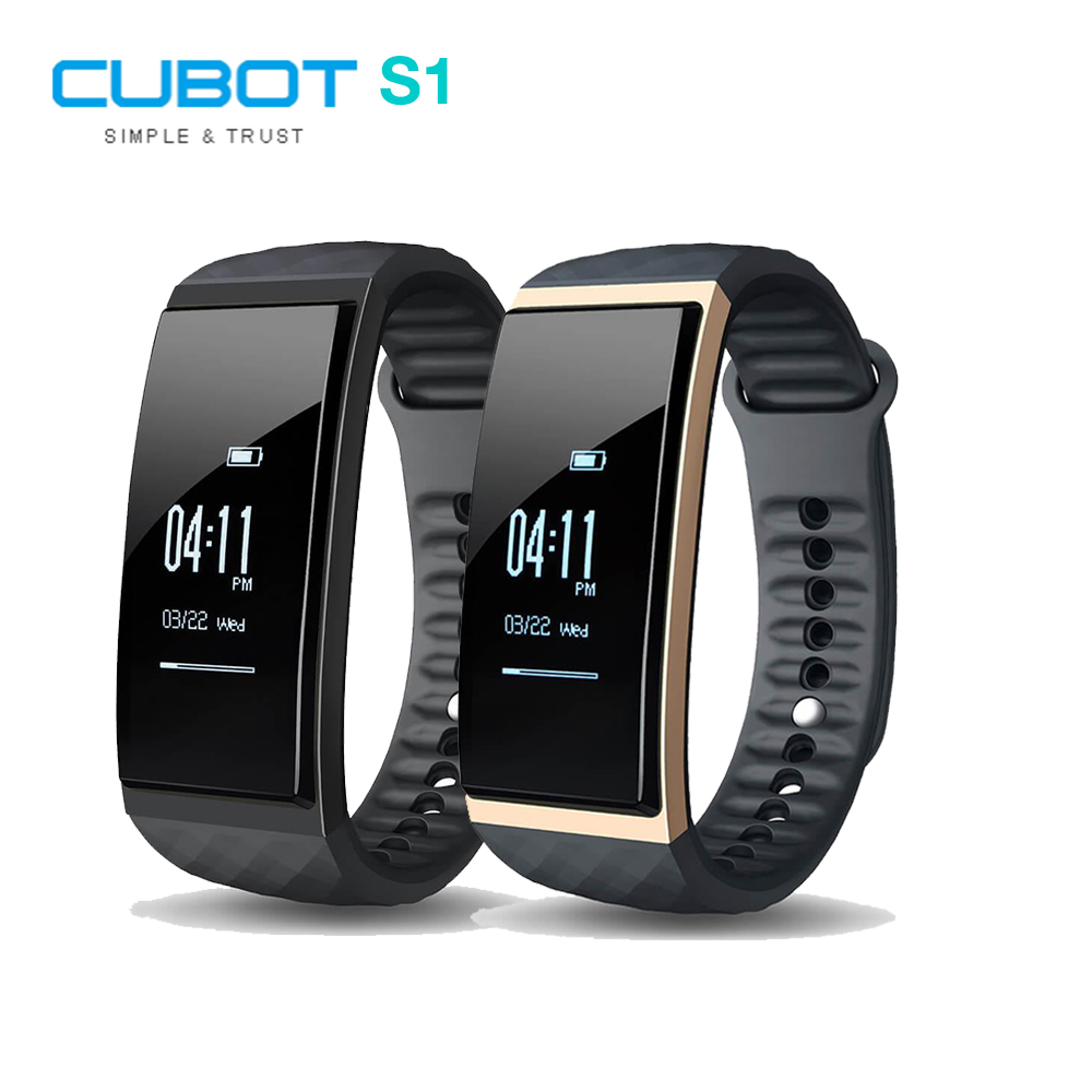 Cubot S1 Dynamic Heart Rate Monitor Smart Bracelet six axis sensor Multi sport tracking Activity Tracking