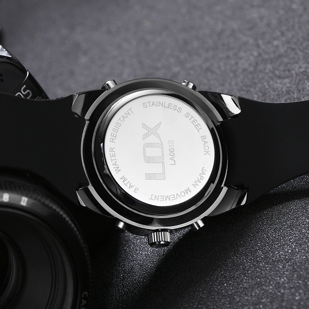 LOX անալոգային թվային տղամարդկանց - Տղամարդկանց ժամացույցներ - Լուսանկար 4