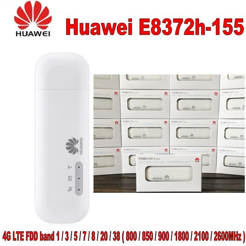 Huawei E8372h-155 4g LTE 150 Mbps USB WiFi Modem Routeur