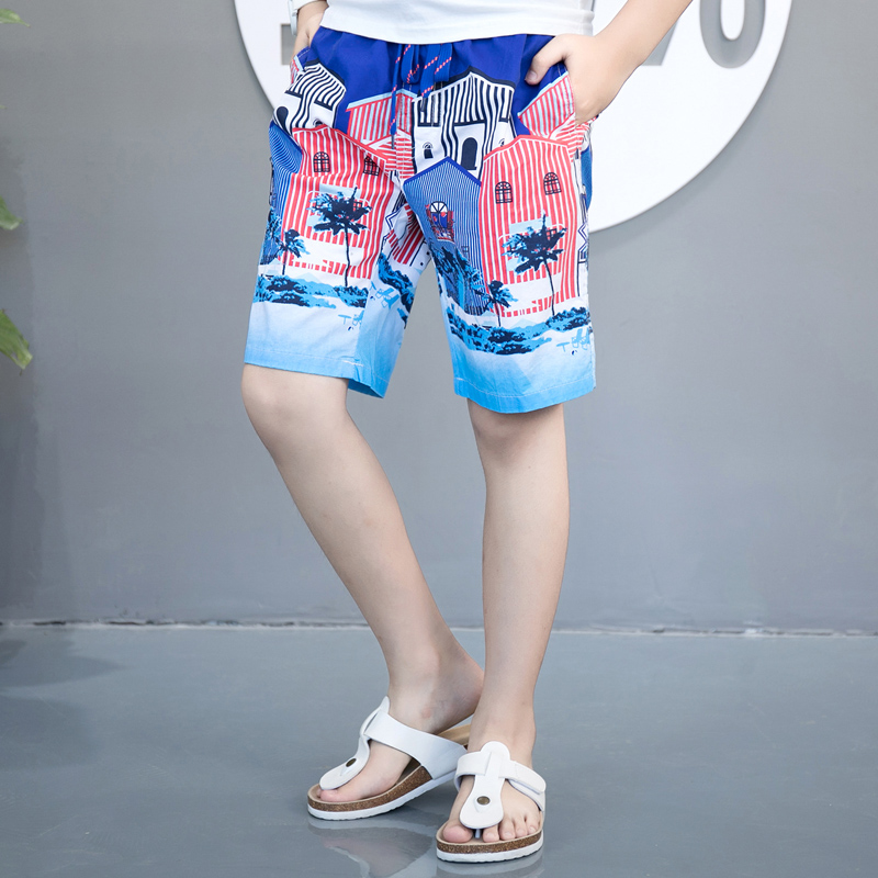 Raise Trust New Kids Print Beach   Shorts   Summer Casual Streetwear For boy girl child Swimwear Sea   Board     Shorts   Men Funny