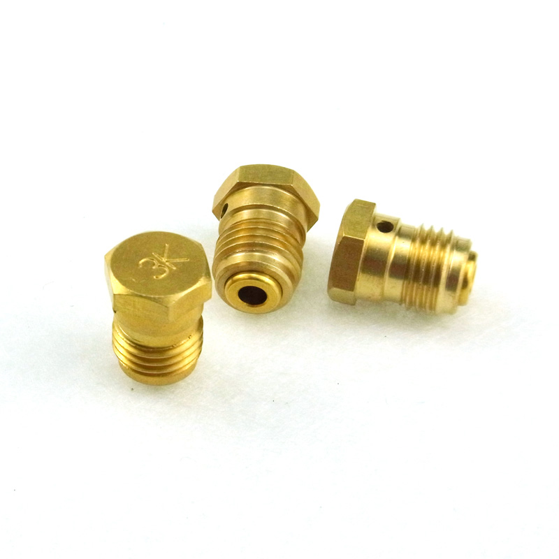 3PCS/Lot New Paintball Air Gun Airsoft PCP Air Rifle HPA/CO2 Tank Regulator Valve Burst Disk 3K - Gold