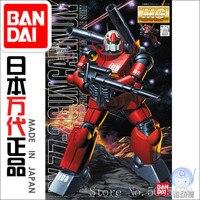 Bandai Gundam Model IN Stock Assembly 07017 MG 1/100 RX 77 2 Gun Cannon Gundam ROBOT Figure Anime Toys Figure Gift