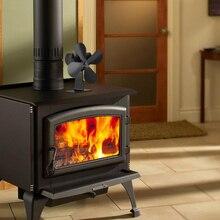 4 лезвий домашней вентилятор для камина электрические тепловые приведенный в действие распределения для дровяные плиты