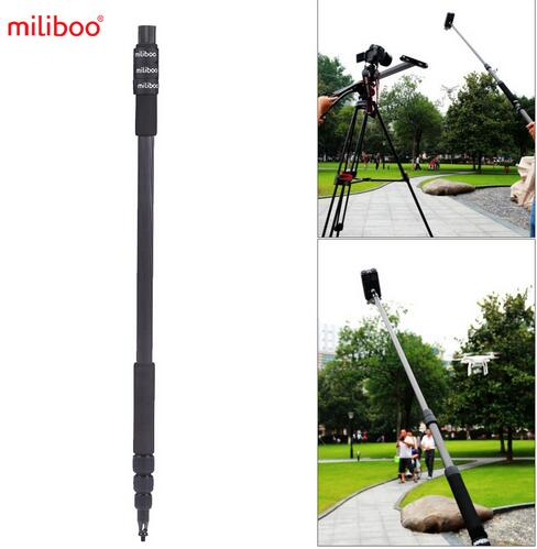 Telescoping Filming Miliboo Carbon Micro Boom Mount 300cm/9.9ft Microphone  Stand Pole Holder Interview Fiber Lightweight 2