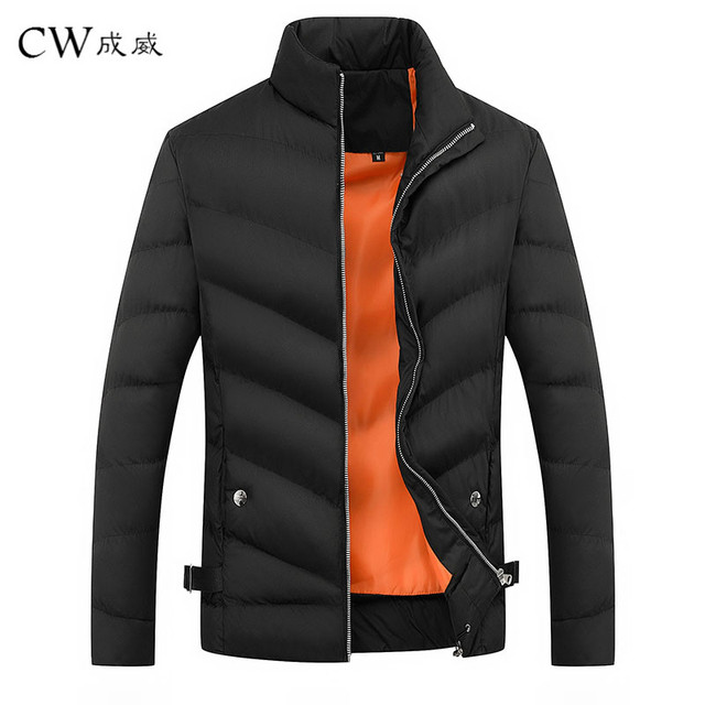 Best Offers CW High-quality Winter Men Jacket 2018 Brand Casual Mens Jackets And Coats Thick Parka Men Outwear 3XL Jacket Male Clothing