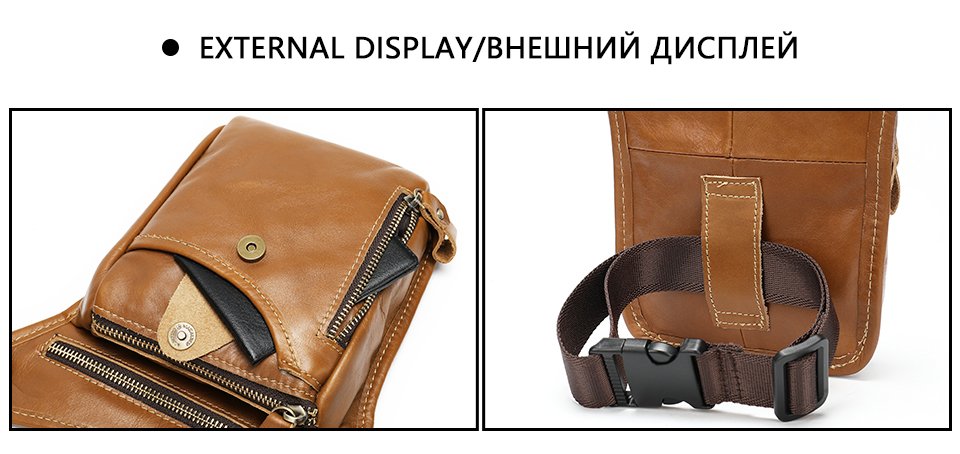 HTB1WWVucBCw3KVjSZFlq6AJkFXam - WESTAL men's belt bag leather leg bag male fanny pack waist bags men tactical phone pack fashion leather motorcycle bags for men