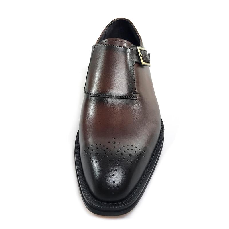44d04b09c Grimentin Vintage Vestir Genuino De Hombres Zapatos Cuero Italiano Negocio  Brown Para Hecho Mano Marrón A VqGpSzMU