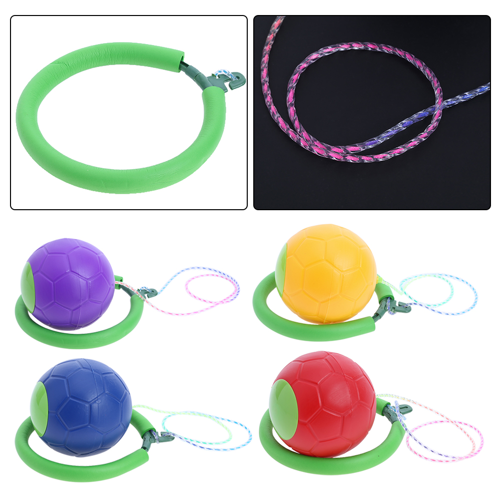 Children Jumping Ball Fitness Toys for Children Ankle Jumping Ball Dancing Toys Single Foot Shot Ball Bouncing Ball Kids Toys