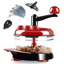 yooap Manual meat grinder home multi-function chopper chopper machine kitchen tools stainless steel  kitchen цена и фото