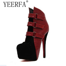 YEERFA New fashion sexy wedding shoes woman platform red bottom high heels women pumps and women's spring autumn shoes party