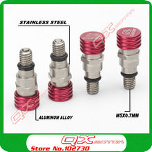 M5*0.8mm Fork Bleeder Relief Valves Fork Relief Valve For CRF YZF KXF RMZ Kayo BSE Dirt Bike Motocross Enduro Supermoto Off Road цена 2017
