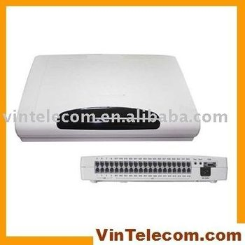 China PBX / PABX factory direct supply CP416 - 4Lines and 16 phone extensions PBX system