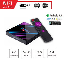 2gb ram android tv box 4K smart h96 max RK3318 Support Online Youtube 9.0 Wifi Google player