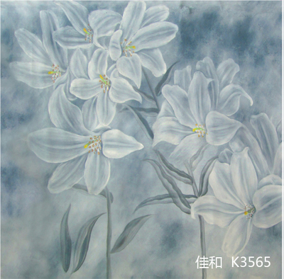 Professional 10X10ft Hand painted scenic Muslin photo studio backdrops,beautiful flower photographic background custom service