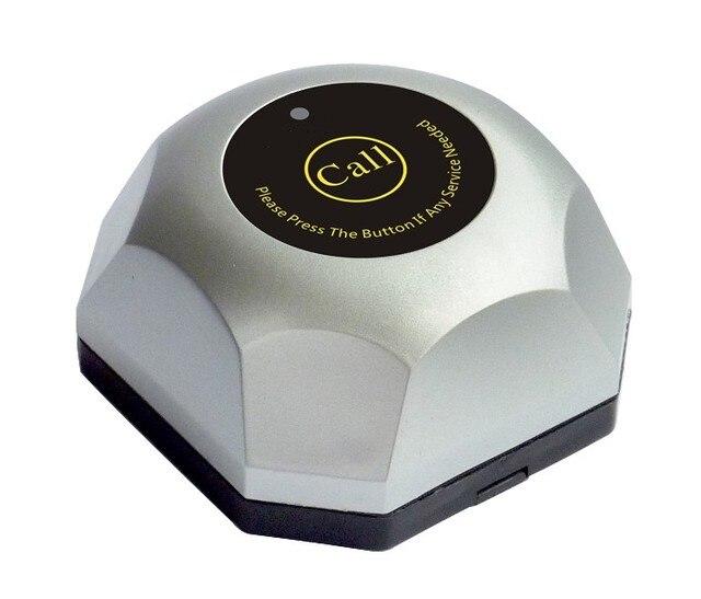 Livraison gratuite! Système de téléavertisseur de serveur, système dappel sans fil de restaurant/hôtel/café, sonnerie dappel de serveuse, système de sonnerie dappel