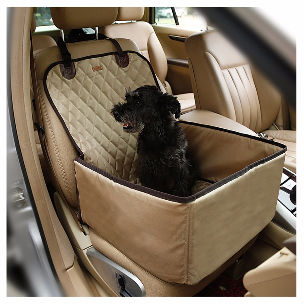 Dog Car Seat Covers Nylon Waterproof Dog Bag Pet Car ...
