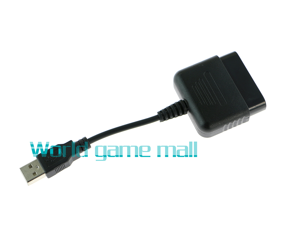 USB Adapter Converter Cable For Gaming Controller For PS2 to For PS3 PC Video Game Accessories 50pcs/lot