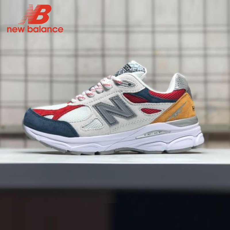 f491d857db41f NEW BALANCE NB990 men's Badminton Shoes lace Up Outdoor Sneaker Hot ...