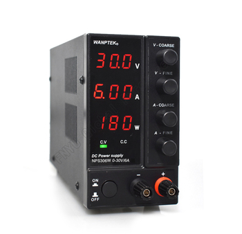 цена на NPS306W DC regulated power supply Power Display Mini Adjustable Digital 0-30V 0-6A Laboratory Test Power Supply