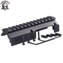 SINAIRSOFT Low Profile Universal Rail Scope Mount For Hk-91 H&k G3 GSG-5 MP5 SP89 Hk-91 93 94 & Cetme Rifles SA4450 h kjerulf ingen vej hk 86