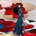2017 Тенденции Моды женщин Цифровая Геометрическая Отпечатано Waistless Летний Пляж Потрясающий Платье Бальное платье Платья Свадебные Платья