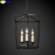 FUMAT American 4-head Chandelier Foreign Trade Original Single Retro Pendent Lamps Dining Room Reference Lamp etc.