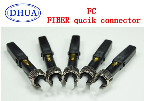 Envío gratis AB76J FTTH 10 unids simple / múltiple de fibra óptica modo para comunicación digital FC conector rápido