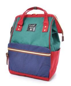 Image 3 - 2018 ใหม่แฟชั่นAnelloกระเป๋าเป้สะพายหลัง,สูงสุดผ้าใบการพิมพ์แพคเกจกระเป๋าผู้หญิงกระเป๋าเป้สะพายหลังที่มีสีสัน