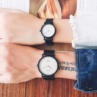 RENOS Lovers Wristwatches In Exquisite Box Simple Watch Fashion Casual Couple For Christmas Gift New Year Stylish Women's Watch