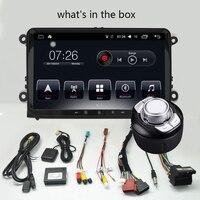 D NOBLE 9 дюймов Android 7,1 автомобильный dvd плеер 2 ГБ/32 ГБ 1 Din Bluetooth WiFi Автомобильный Радио Стерео gps навигация для VW универсальный
